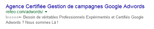 meta description titre refeo